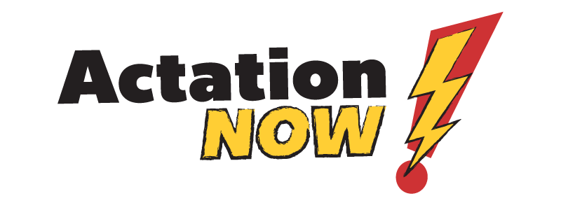 Actation Now Logo Design by Reformation Designs