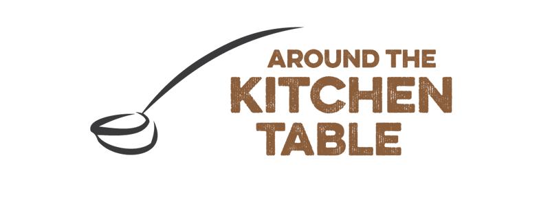 Around the Kitchen Table Sports Logo Design by Reformation Designs