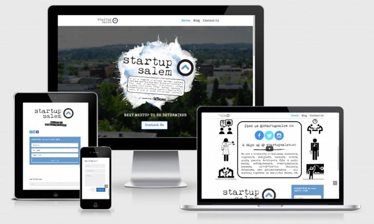 Startup Salem – Branding, Web Design & Video