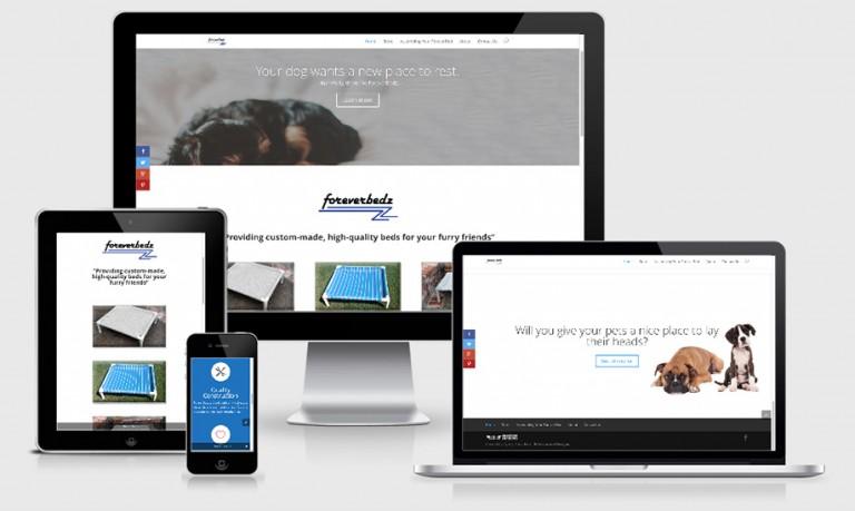 ForeverBedz – Branding, Web Design & Copywriting