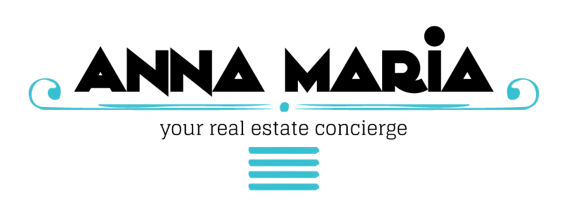 Anna Marie Real Estate Logo Design by Reformation Designs