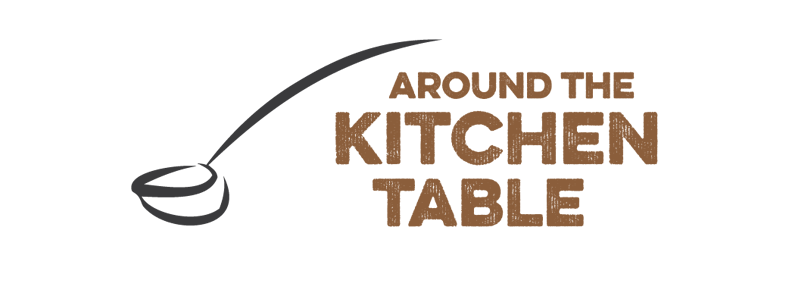 Around the Kitchen Table Sports Logo Design by Reformation Designs