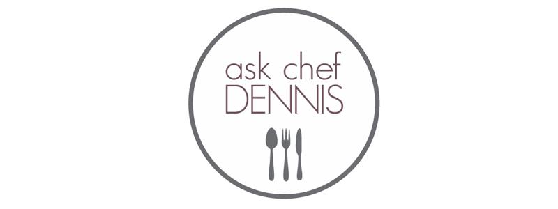Ask Chef Dennis Logo Design by Reformation Designs