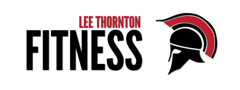 Lee Thornton Fitness Logo Design by Reformation Designs