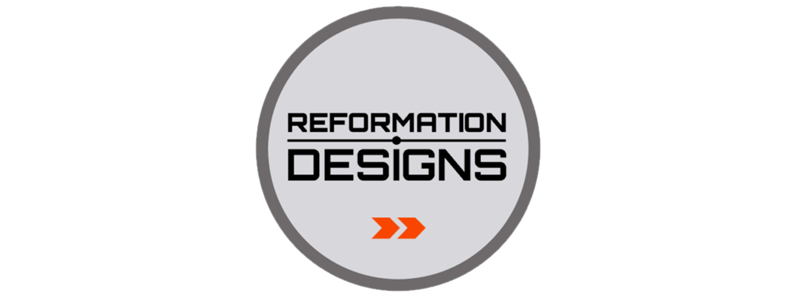 Reformation Designs 2.0 Logo Design by Reformation Designs