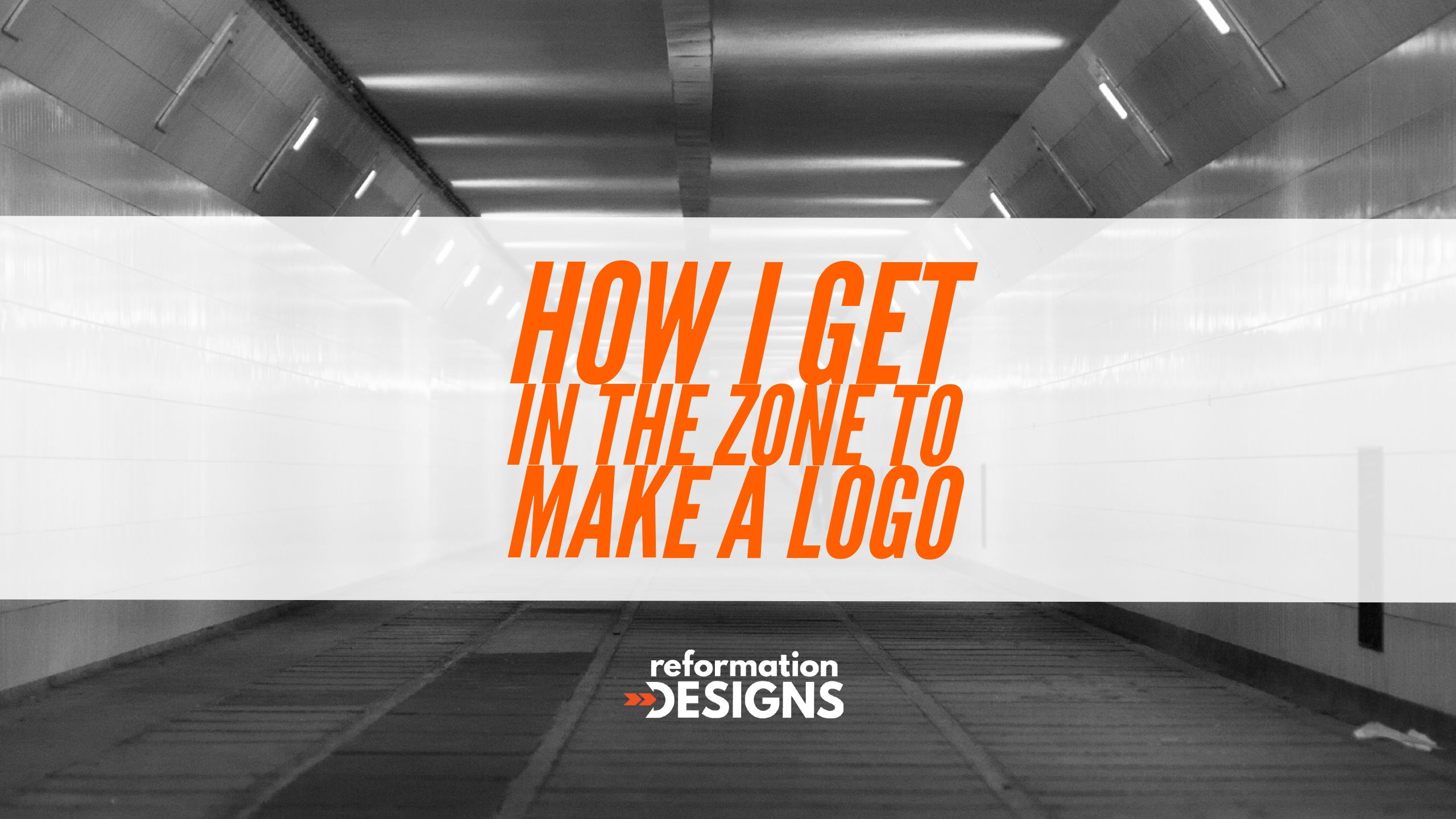 How I Get in the Zone for Logo Design