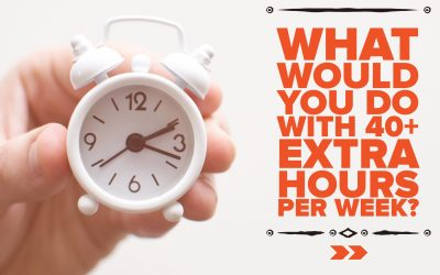 What Would You Do With an Extra 40+ Hours Per Week?